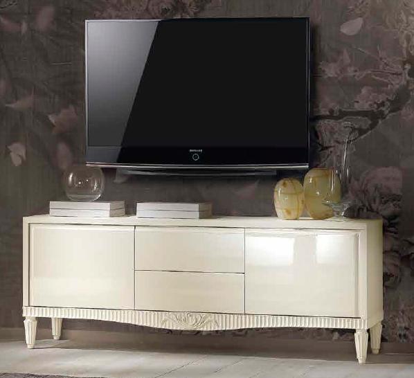 comoda tv din lemn masiv